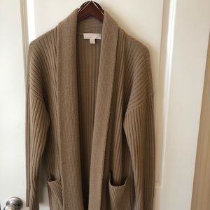 Michael Kors wool and cashmere blend cardigan